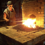 Forging a career through the fires of blacksmithing
